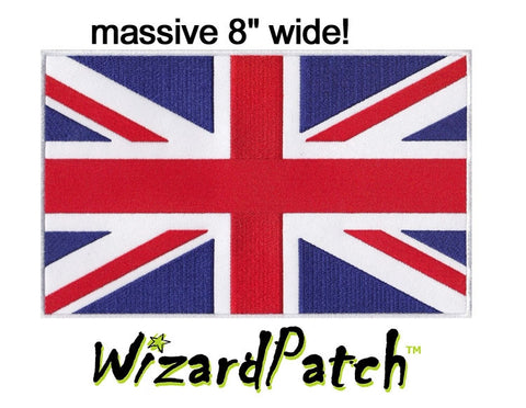 "AUSTRALIAN 8"" FLAG PATCH, BEST EMBROIDERY GUARANTEED"