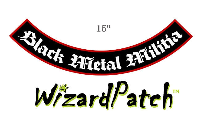 WATAIN LARGE 15 INCH LOWER ROCKER PATCH