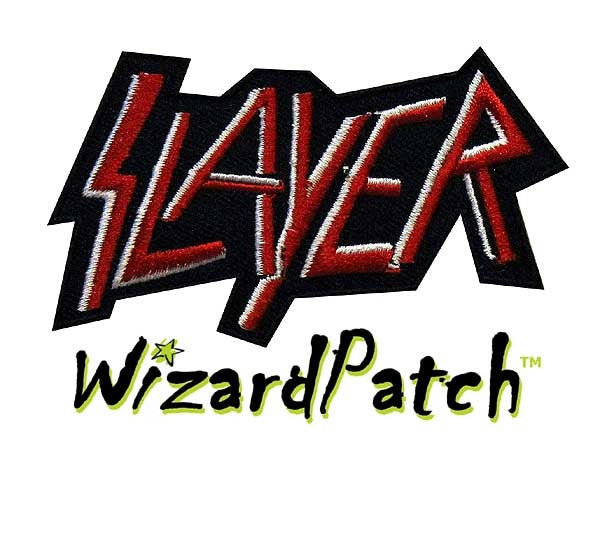 SLAYER SEW ON PATCH, METAL MUSIC BAND