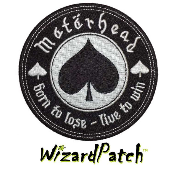 MOTORHEAD DISC PATCH music rock band patches