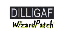 DILLIGAF BAR TAG 4inch WIDE PATCH