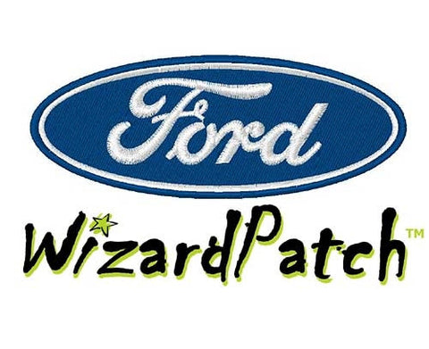 FORD MOTORS BRAND LOGO BAR Patch 4.5 inch WIDE