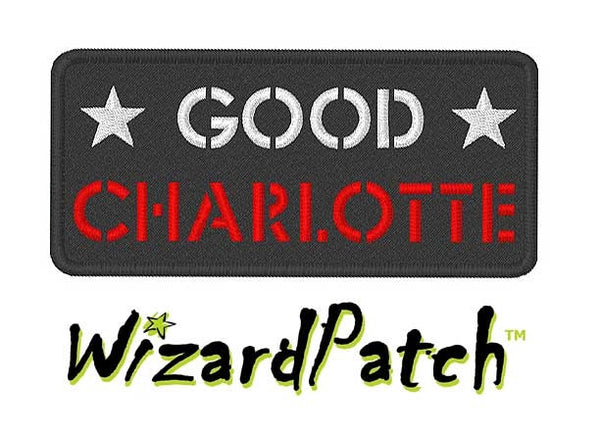 GOOD CHARLOTTE LOGO PATCH music rock band patches
