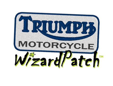 TRIUMPH LOGO PATCH 3 inch WIDE