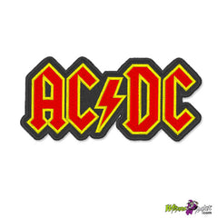 ACDC LOGO EMBROIDERED PATCH BADGE