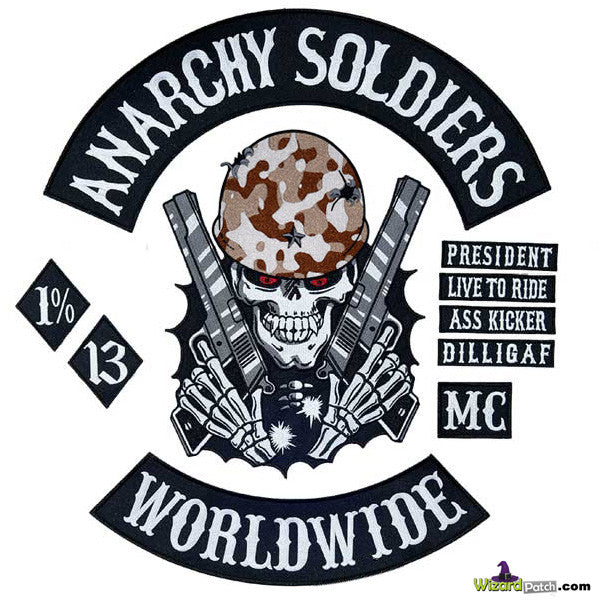 ANARCHY SOLDIERS™ OUTLAW 10PC SET
