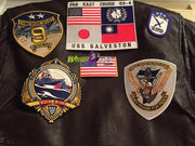 TOP GUN COMPLETE EMBROIDERED G1 FLIGHT JACKET PATCH SET