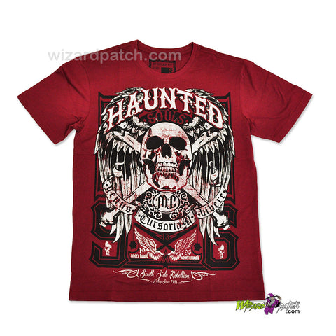 HAUNTED SOULS HIGH QUALITY COTTON PRINTED T-SHIRT REGULAR FIT