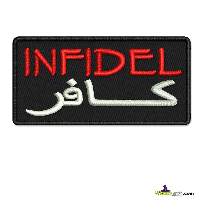 INFIDEL EMBROIDERED PATCH