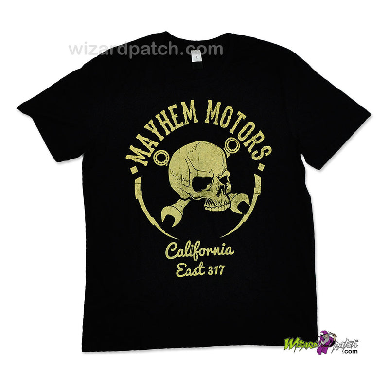 MAYHEM MOTORS CALIFORNIA HIGH QUALITY COTTON PRINTED T-SHIRT REGULAR FIT
