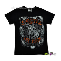 MAYHEM SPECTRE OF FIRE HIGH QUALITY COTTON PRINTED T-SHIRT REGULAR FIT