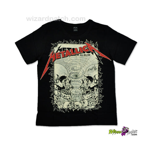 METALLICA HEAVY METAL BAND HIGH QUALITY COTTON PRINTED T-SHIRT REGULAR FIT