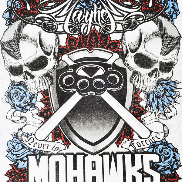 MAYHEM MOHAWKS HIGH QUALITY COTTON PRINTED T-SHIRT REGULAR FIT