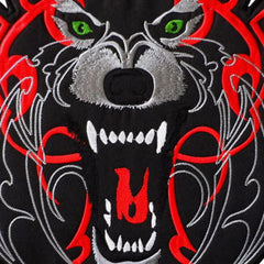 L TRIBAL TIGER LARGE BACK PATCH