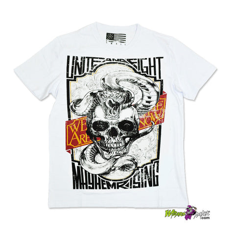 UNITE AND FIGHT HIGH QUALITY COTTON PRINTED T-SHIRT REGULAR FIT