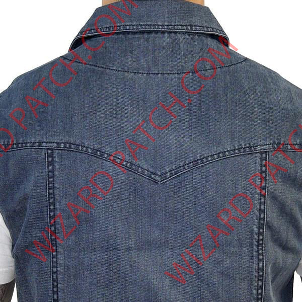 Outlaw Apparel™ ROGUE™ DENIM VEST