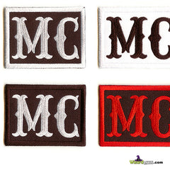 EMBROIDERED PATCHES 1%ER MC BIKER SET BEST EMBROIDERY PATCH SPECIALISTS