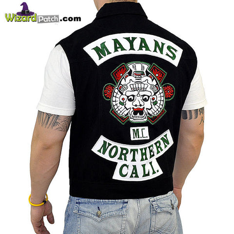 MAYAN'S DENIM CUT GREEN ROCKERS, 99% SCREEN ACCURATE