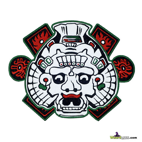 MAYAN GOD BACK PATCH SONS OF ANARCHY