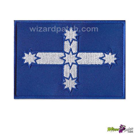 southern cross embroidered australian flag wizard patch embroidery
