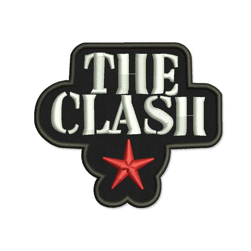 THE CLASH EMBROIDERED STAR PATCH
