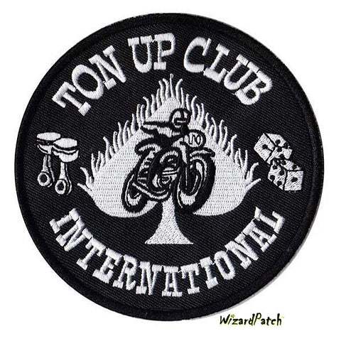 "Ton UP International 4"" Disc Patch"