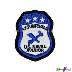 top gun lt p mitchell embroidered g1 jacket set patch