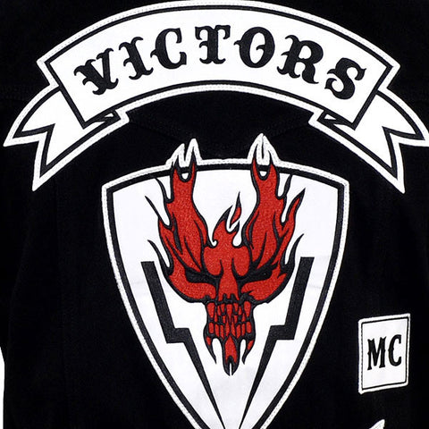 HELL RIDE VICTORS SCREEN ACCURATE VEST AT WIZARD PATCH