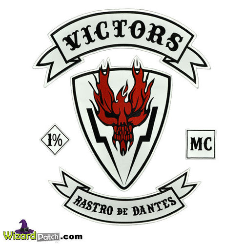 HELL RIDE VICTORS 12 PC PATCH SET SALE ON NOW!