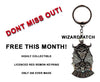 FREE RED DEMON KEYRING WITH EVERY RED DEMON PATCH SOLD THIS MONTH ONLY