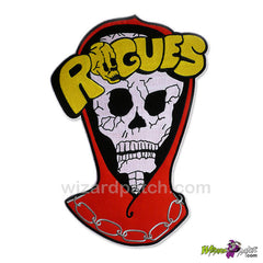 wizard patch warriors the rogues 12 inch full size embroidered back patch movie prop best quality