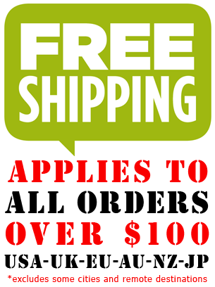 FREE SHIPPING TO MOST MAJOR CITIES WORLDWIDE VIA DHL 2-4 DAY PRIORITY EXPRESS FROM SYDNEY AUSTRALIA