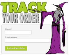 Check the status of your Wizard Patch order!