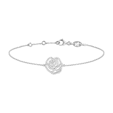 Charger l'image dans la galerie, Bracelet Or blanc et Diamants - LA ROSE