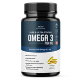 Pure & Ultra-Strong Omega 3 Fish Oil