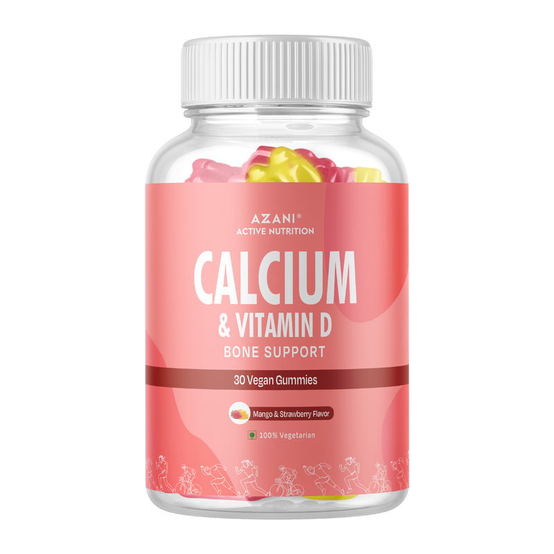 Calcium & Vitamin D Gummies