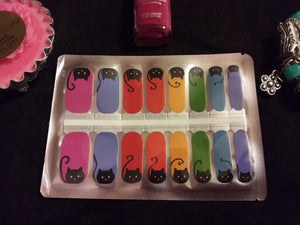 Kitty Colors – Nail Polish Strips