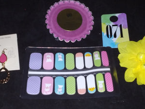 Easter Pastels – Nail Polish Strips