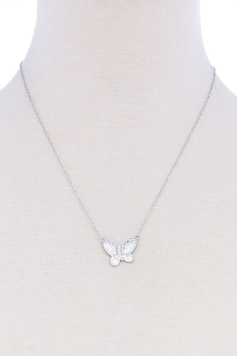 Cute Butterfly Chic Necklace