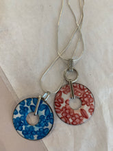Load image into Gallery viewer, Donut enamel pendants