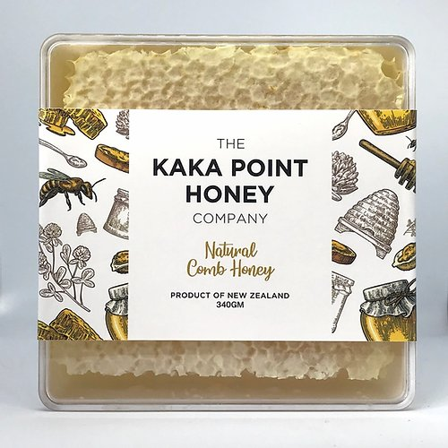 The Kaka Point Honey Company - Natural Honey Comb 340gm