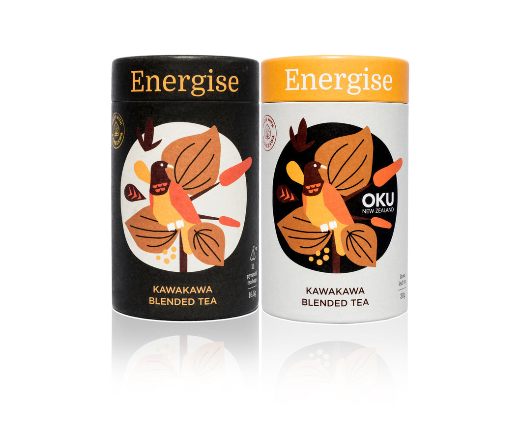 Energise Tea - OKU | NZ Native Herbs