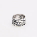 "Ring ""Sutra"" silver aperta"