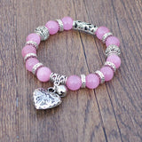 GUARIGIONE Bracciale LOVE e Opal Rose