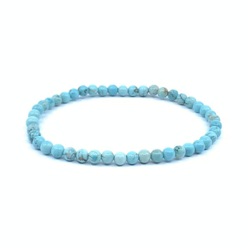 "Mini Bracciale ""energia"" in turchese Howlite"