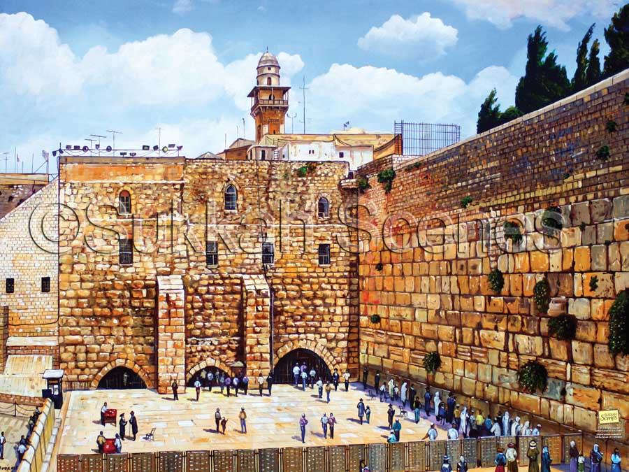 Exquisite Kotel Painting