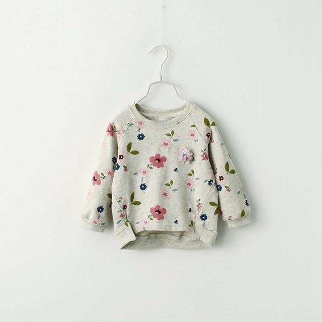 Sweatshirt with O-Neck for 6-8 Years