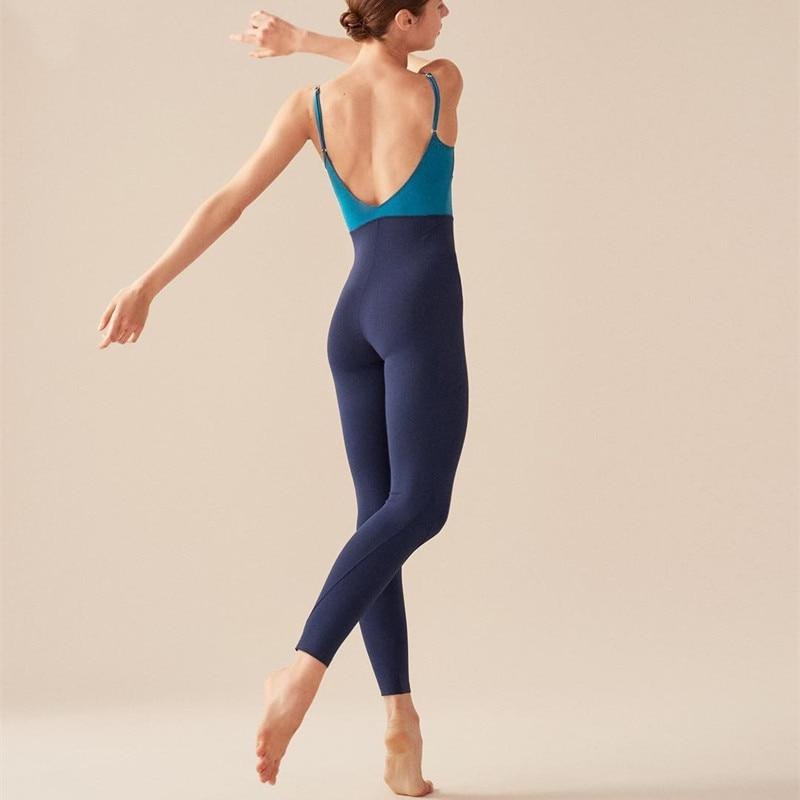 Yoga Jumpsuit in Blau