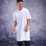 Extra Long Half-Sleeve T-Shirt