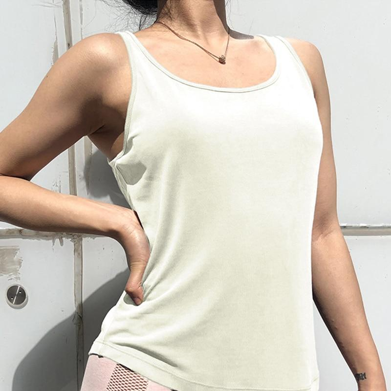 Sleeveless Gym Tank Top